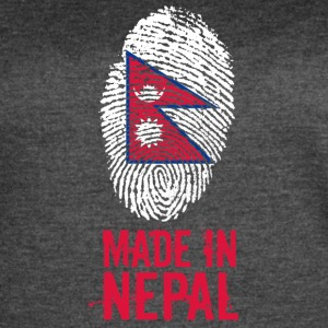 Made In Nepal / नेपाल - Women's Vintage Sport T-Shirt