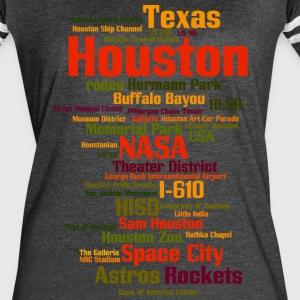 Houston (Space City, Texas, USA) - Women's Vintage Sport T-Shirt