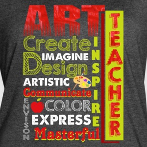 ART TEACHER SHIRT - Women's Vintage Sport T-Shirt