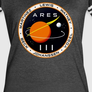 Ares 3 mission to Mars The Martian - Women's Vintage Sport T-Shirt