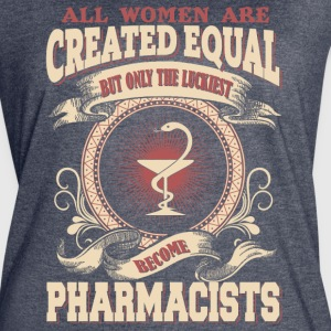 The Luckiest Women Become Pharmacists - Women's Vintage Sport T-Shirt