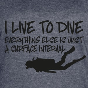scuba diving - Women's Vintage Sport T-Shirt