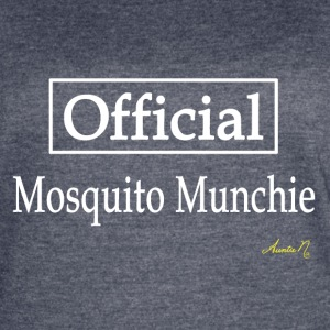 0127w Official Mosquito Munchie - Women's Vintage Sport T-Shirt