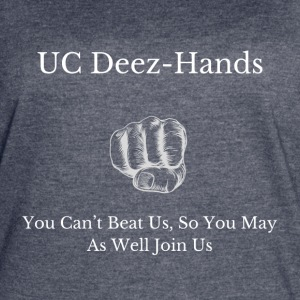UC Deez-Hands Can't Beat Us - Women's Vintage Sport T-Shirt