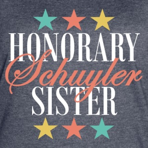 Honorary Schuyler Sister (Angelica) - Women's Vintage Sport T-Shirt