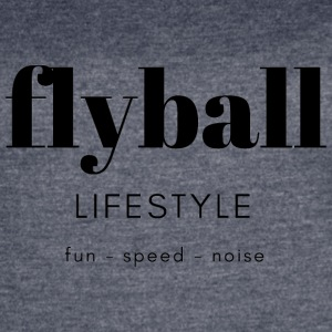 Flyball Lifestyle - Women's Vintage Sport T-Shirt