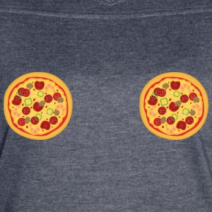 Pizza Boobs - Women's Vintage Sport T-Shirt