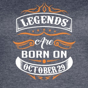 Legends are born on October 29 - Women's Vintage Sport T-Shirt