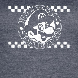Mario's Pizza Hot & Tasty - Women's Vintage Sport T-Shirt
