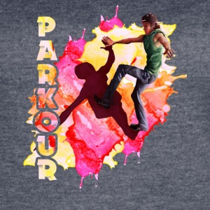 parkour player shirt - Women's Vintage Sport T-Shirt