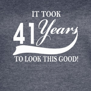 It took 41 years to look this good - Women's Vintage Sport T-Shirt