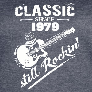 Classic Since 1979 and still Rokin - Women's Vintage Sport T-Shirt