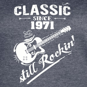 Classic Since 1971 and still Rokin - Women's Vintage Sport T-Shirt