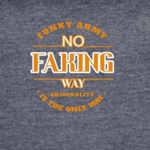 No Faking Way - Women's Vintage Sport T-Shirt