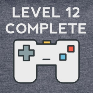 Level 12 Complete 12th Birthday - Women's Vintage Sport T-Shirt