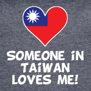 Someone In Taiwan Loves Me - Women's Vintage Sport T-Shirt