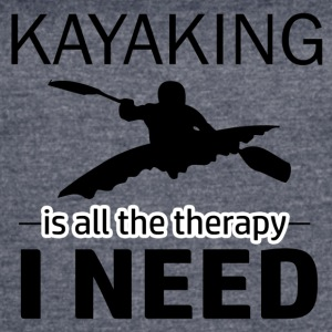 Kayaking is my therapy - Women's Vintage Sport T-Shirt