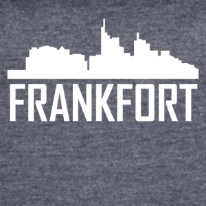 Frankfort Kentucky City Skyline - Women's Vintage Sport T-Shirt