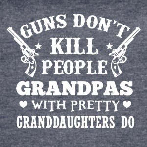 Grandpas Pretty Granddaughters Tee Shirt - Women's Vintage Sport T-Shirt