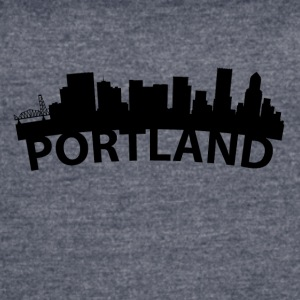 Arc Skyline Of Portland OR - Women's Vintage Sport T-Shirt