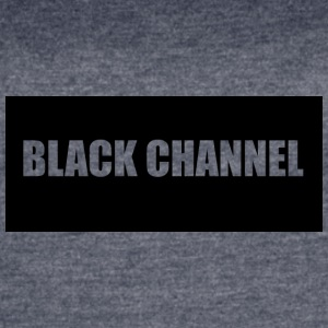 BLACK CHANNEL Shirt - Women's Vintage Sport T-Shirt