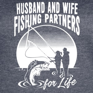 Husband And Wife Fishing Partners Shirt - Women's Vintage Sport T-Shirt