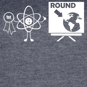 The World is Round - Women's Vintage Sport T-Shirt