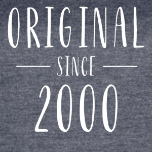 Original since 2000 distressed - Born in 2000 - Women's Vintage Sport T-Shirt