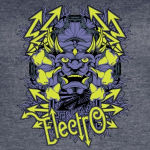 electro demon - Women's Vintage Sport T-Shirt