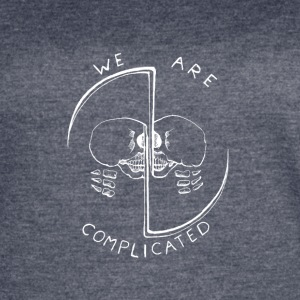 Complicated (White) - Women's Vintage Sport T-Shirt