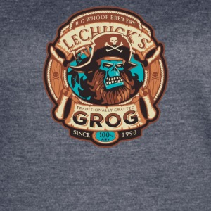 Ghost Pirate Grog - Women's Vintage Sport T-Shirt
