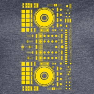 DJ yellow - Women's Vintage Sport T-Shirt