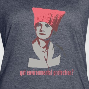 Rachel Carson - got environmental protection? dark - Women's Vintage Sport T-Shirt