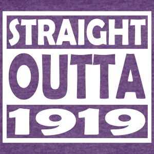 98th Birthday T Shirt Straight Outta 1919 - Women's Vintage Sport T-Shirt