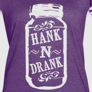 Hank and Drank - Women's Vintage Sport T-Shirt