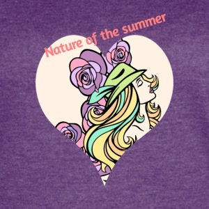 Nature of Summer - Women's Vintage Sport T-Shirt