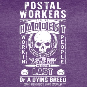 Postal Workers Are The Hardest T Shirt - Women's Vintage Sport T-Shirt