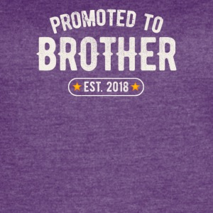 Promoted To Brother 2018 - Women's Vintage Sport T-Shirt