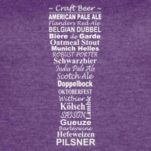 Beer brands in one glass - Women's Vintage Sport T-Shirt