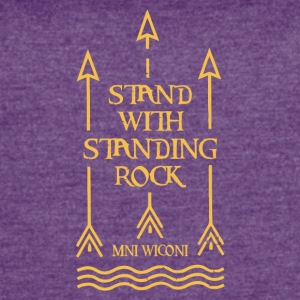 Stand With Standing Rock Official Shailene Woodley - Women's Vintage Sport T-Shirt