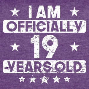 I Am Officially 19 Years Old 19th Birthday - Women's Vintage Sport T-Shirt