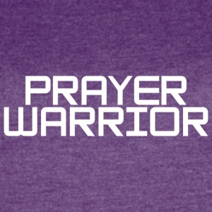 prayer warrior - Women's Vintage Sport T-Shirt