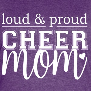 Cheer Mom - Loud & Proud - Women's Vintage Sport T-Shirt