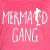 Mermaid Gang Funny Quote - Women's Vintage Sport T-Shirt