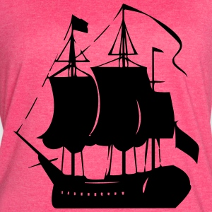Pirate old ship - Women's Vintage Sport T-Shirt