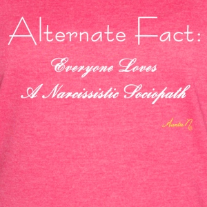 0165w Alternate Fact: Everyone Loves - Women's Vintage Sport T-Shirt