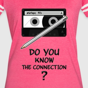 only 90s kids will know the connection - Women's Vintage Sport T-Shirt