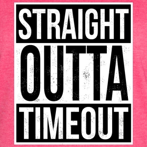 Straight Outta Timeout - Women's Vintage Sport T-Shirt