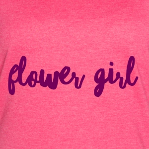 Flower Girl - Women's Vintage Sport T-Shirt