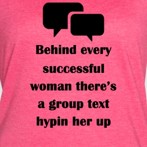 Successful Woman - Women's Vintage Sport T-Shirt
